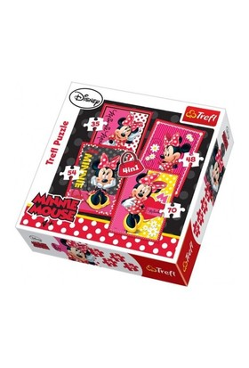 Disney Minnie 4'Lü Puzzle