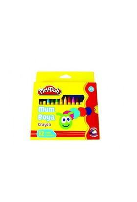 Play-Doh 12 Renk Crayon Mum Karton Kutu 11Mm