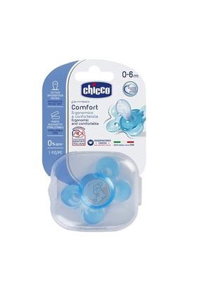 Chicco Physio Comfort Silikon Emzik Erkek 0-6 Ay Tekli