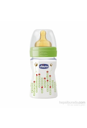 Chicco Wellbeing PP Biberon Unisex 150 ml Kauçuk Normal Akış