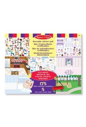 Melissa & Doug Tak Çıkar Çıkartma Kitabı Oyun Evi