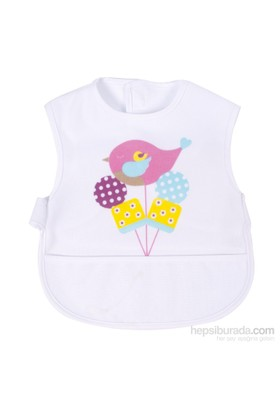 Sevi Bebe Lüks Giymeli Sıvı Geçirmez Önlük
