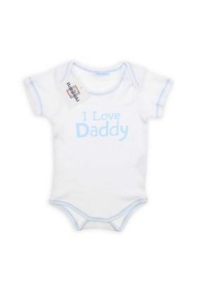 Modakids Bambaki Erkek Bebek Kısa Kol Çıtçıtlı Body 013-00058-014