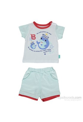 Bebetto K1038 Yunus Bebek Takımı 2Li Mint 9-12 Ay (74-80 Cm)