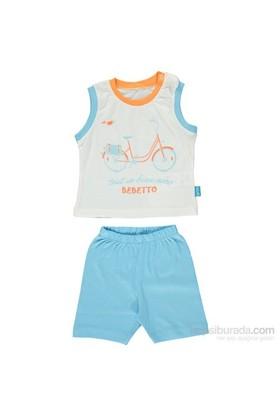 Bebetto K1040 Bisiklet Bebek Takımı 2Li Turkuaz 9-12 Ay (74-80 Cm)