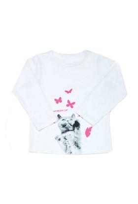 Modakids Wonder Kids Kız Bebek Uzun Kol T-Shirt 010-1300-027