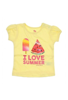 Modakids Wonder Kids Kız Bebek T-Shirt 010-1303-001