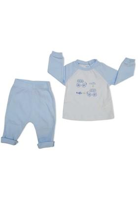 İdil Baby 7611 2Li Erkek Bebek Takım