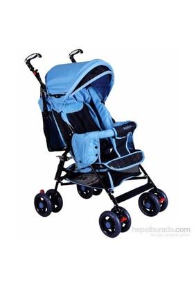 Babyhope Sa7 Baston Bebek Arabası Mavi Siyah