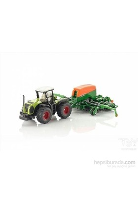 Siku Tractor with seeder