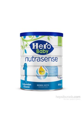Hero Baby Nutrasense 1 Bebek Sütü 800 gr