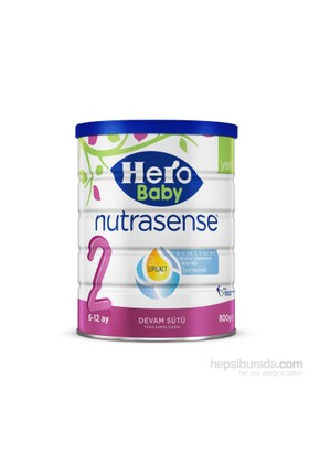 Hero Baby Nutrasense 2 Devam Sütü 800 gr