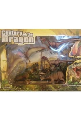 Dinosaur Revive 5 Parça Dinozor Figür Seti