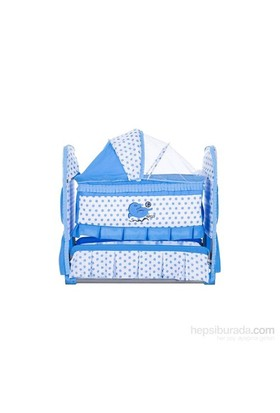 Convers Tatlı Sallanır Bebek Beşiği - Mavi