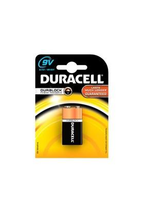 Duracell Alkalin 9 Volt Pil