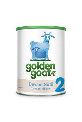Golden Goat 2 Keçi Sütü Bazlı Devam Sütü 400 gr - 12'li
