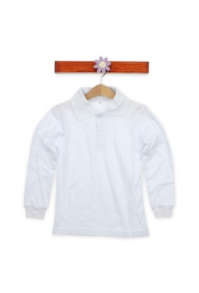 Modakids Uzun Kol Beyaz Okul Lakos 019 - 9511 - 027