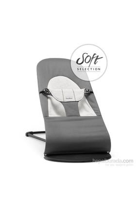 BabyBjörn Balance Soft Ana Kucağı Dark Grey / Grey Cotton Jersey