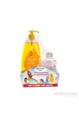 Johnson's Baby Şampuan 800ml + Johnsons Baby Yağ 200ml Hediye