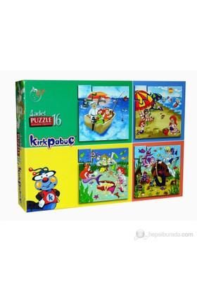 Kırkpabuc Deniz (4x16 Parçalık Karton Puzzle)