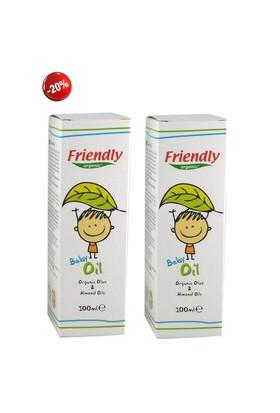Friendly Organic Bebek Yağı 2 Adet 100 Ml