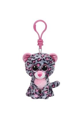 Ty Tasha Pink/Grey Leopard Clip