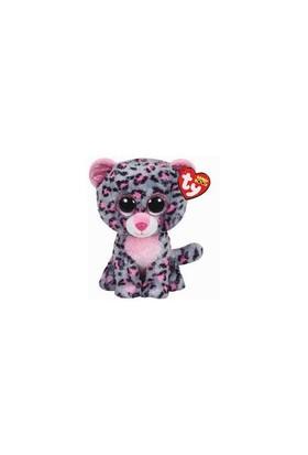 Ty Peluş Oyuncak Tasha - Pink-Grey Leopard Regular 15 Cm