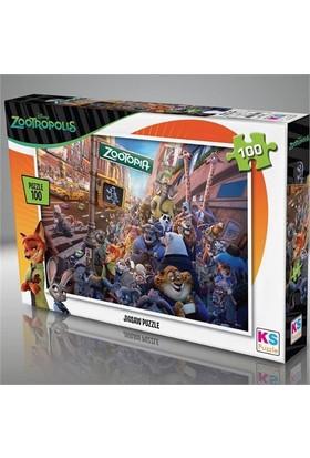 Ks Puzzle 100 Parça Zootropolis Puzzle