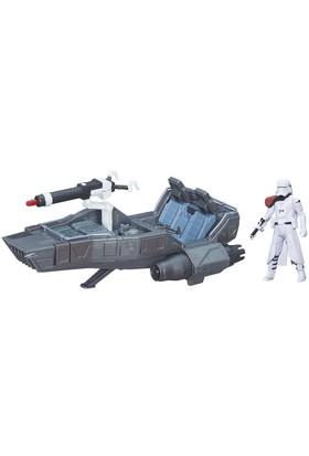 Star Wars Snowspeeder Büyük Araç Ve Figür Set