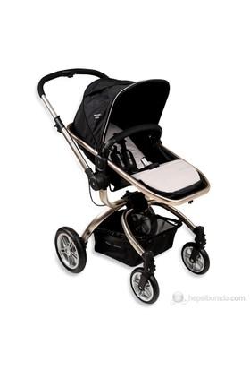 Pierre Cardin PS-805 Twist Seyahat Sistem Bebek Arabası / Siyah