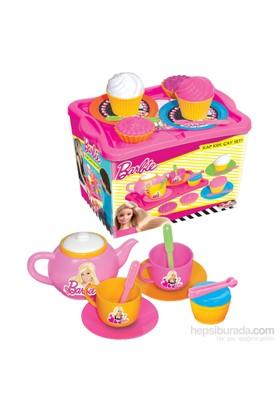 Barbie Kap Kek Çay Seti