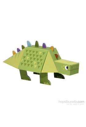 Krooom Stegosaurus 3D Fold My Dino