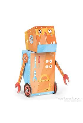Krooom Hünerli 3D Fold My Robot