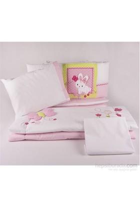 Aybi Baby Bunny Kenar Korumali Oyun Parkı Uyku Seti Pembe
