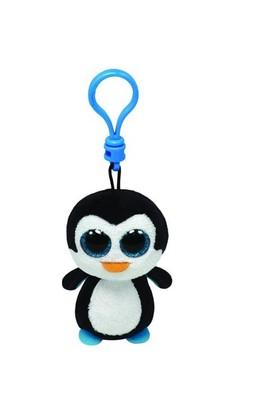 Ty Peluş Oyuncak Waddles - Penguin Anahtarlık 12 Cm