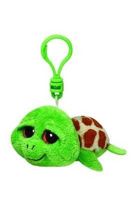 Ty Peluş Oyuncak Zippy - Green Turtle Anahtarlık 12 Cm