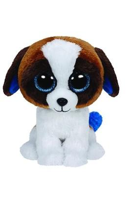 Ty Peluş Oyuncak Duke - Brown White Dog Medium 25 Cm