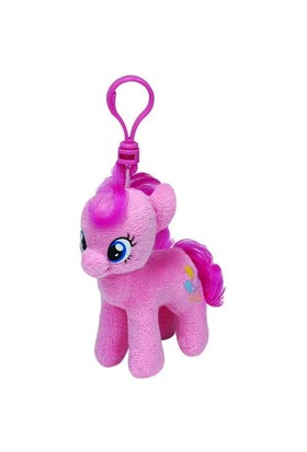 Ty Peluş Oyuncak Pinkie Pie - My Little Pony Anahtarlık 12 Cm