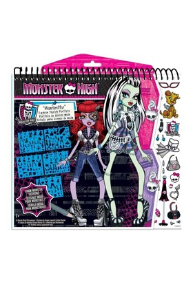 Fashion Angels Monster High Tasarım Portfolyo - Moda Tasarımı