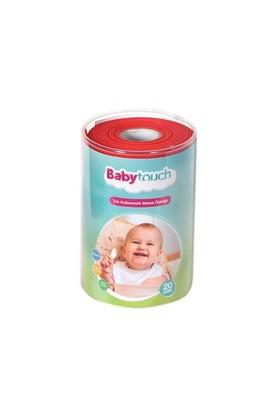 Baby Touch Tek Kullanımlık Rulo Mama Önlüğü (20 Adet)