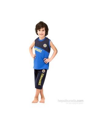 Roly Poly 3038 Fenerbahçe Lisanslı Erkek Çocuk Pijama Takımı Siyah-Lacivert 5 Yaş (110 Cm)