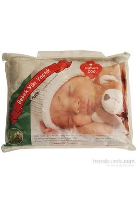 Cotton Box 3860 Bebek Yün Yastık Krem