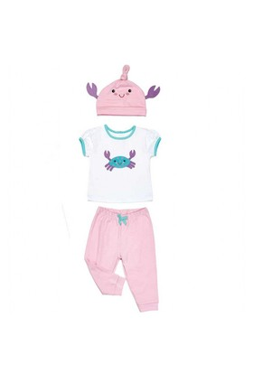 Modakids Wonder Kids Kız Bebek Şapkalı Takım 010-1353-027