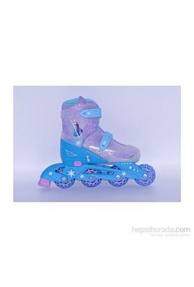 Disney Frozen 4 Tekerlekli Ayarlanabilir Paten / M (35,36,37,38)