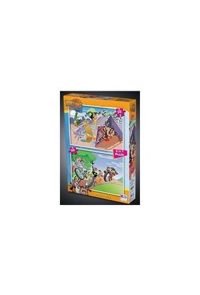 Ks Looney Tunes Puzzle 2 In 1 35+60
