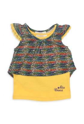 Modakids Nk Kids Kız Bebek Prenses Leoparlı 2'Li T-Shirt Takım 002-31830-001