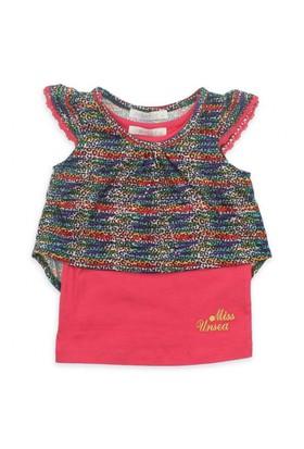 Modakids Nk Kids Kız Bebek Prenses Leoparlı 2'Li T-Shirt Takım 002-31830-004