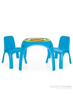 Pilsan İki Sandalyeli King Masa