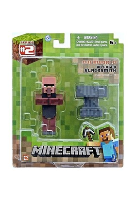 Minecraft Figur Paketi Blacksmith