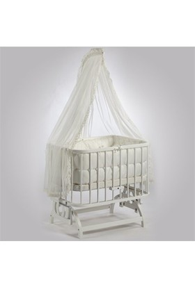 Baby Tech 103 Anne Yanı Beyaz Beşik
